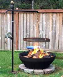 fire pit cooking grill surprisingly easy fire pits anyone can make sunnydaze fire pit cooking grill