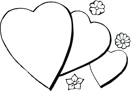 Hearts Coloring Pages Pdf Cool Heart Coloring Pages Valentine Human