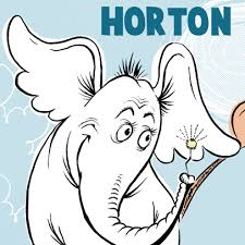 how to draw horton hears a who from dr seuss book in easy steps