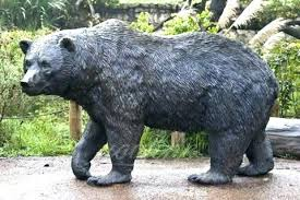 large outdoor statues large outdoor decorative wildlife bronze black bear lawn aments sculpture statues for large outdoor statues