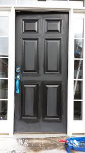 black front door hardware. FOCAL POINT STYLING: How To Paint Interior Doors Black \u0026 Update Brass Hardware Front Door N
