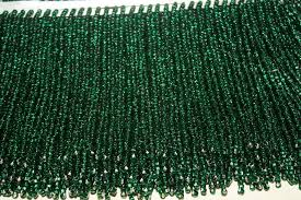 71 italian hand made glass bead lamp shade fringe for