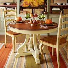 Marchella Antique Ivory 48 Round Dining Table Pier 1