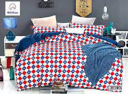 Bedding <b>100</b>% Cotton Duvet cover Pillow cases <b>3pcs</b> Crown ...