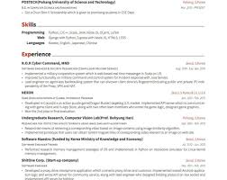 Resume Headers - Find Your Sample Resume