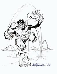 Sal Buscema Hulk Sketch In Jaume Vaquer Mestres Sketches Comic Art
