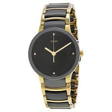 rado centrix jubile black ceramic mens watch r30929712 image is loading rado centrix jubile black ceramic mens watch r30929712