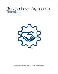 Service Level Agreement Template (Apple Iwork Pages/numbers ...