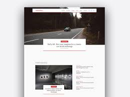 Design Product News Magazine Online Tech News Magazine By Wolffkraft Design Studio On