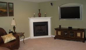 decorating corner fireplace mantels