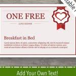 I Owe You Voucher I Owe You Vouchers Printable Blank Coupon Template
