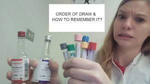 Order Of Draw Phlebotomy Chart Uk Phlebotomy Order Of Draw Explanation How To Remember It