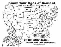 States Age Of Consent Chart Age Of Consent Map Duck Duck Gray Duck