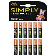 Duracell Battery Sizes Chart Duracell Aaa 2400 Batteries 12 Pack