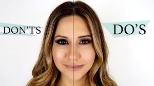 makeup mistakes to avoid do s don ts 2017