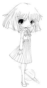 Anime Coloring Pictures Printable Anime Coloring Pages Cute Anime
