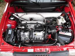 fiat uno first series turbo i e model engine bay