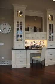 killer home office built cabinet ideas. Would Love To Have A Kitchen Desk Area! Nice Built In. In Office Idea? Killer Home Cabinet Ideas