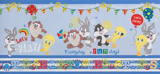 baby looney tunes decorative wall stickers
