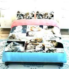 modern bedrooms decorations puppy twin comforter set lightning dog crib bedding sets print cat bed sheets