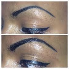 permanent makeup correction eyebrows