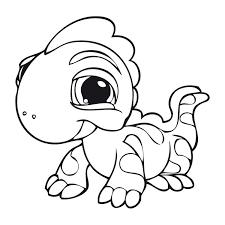 Littlest Pet Shop Kleurplaten Voor Kinderen Kleurplaat En