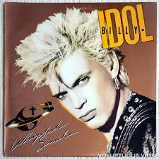 Vinyl Voluptuous Records – 1986 Billy – Idol Whiplash Smile