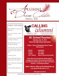Dream Catcher Stories Alumni Dreamcatcher Newsletter Forest City Education Foundation 86