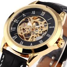 compare prices on self winding watches for men military online new hot fashion sewor skeleton men military business clock stainless steel mechanical self wind wrist dress