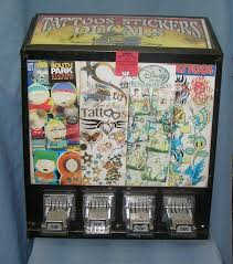 Sticker Vending Machines Mesmerizing Vending Machine Tattoos