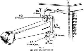 ferguson lucas lighting information Ferguson Ted 20 Wiring Diagram positioning of rear lights ferguson manual ferguson ted 20 wiring diagram