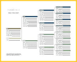 Excel Genealogy Templates Printable Family Tree Maker Excel Template Medium Size Regarding