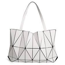 Japanese Designer Bag Geometric Amazon Com Japanese Style Geometric Ms Shoulder Bag Matte