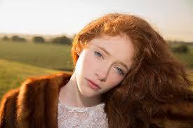 Dievča Ryšavé Vlasy Modré Oči Fotografia Zdarma Na Pixabay