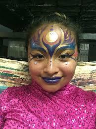 mari sol jr performer modern cirque face paint makeup imagine