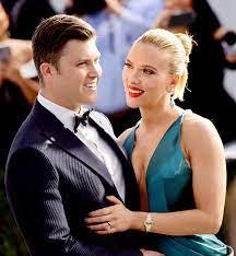 Scarlett Johansson & Colin Jost haben ...