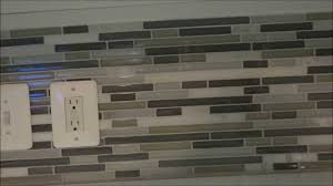 Diy Kitchen Tile Backsplash Detailed How To Diy Backsplash Tile Installation Youtube