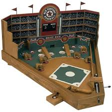 Wooden Baseball Game Toy Front Porch Classics Wooden Baseball Game Gift Ideas 1