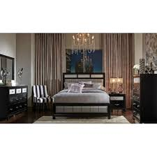 Awesome Barzini Black 4 PCS Queen Bedroom Set 200891Q Coaster
