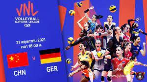 ถ่ายทอดสด วอลเลย์บอลหญิง เนชันส์ลีก 2021 จีน vs เยอรมนี Full HD