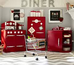 red retro kitchen collection by pottery barn kids home decorating interior design fashion health lifestyle blog