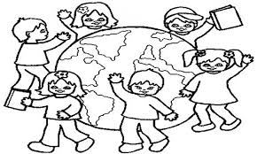 childrens coloring sheets. Interesting Childrens Timely Children Around The World Coloring Page 15089 For Childrens Sheets