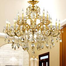 vintage gold chandelier antique