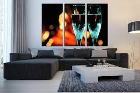 3 piece canvas wall art living room wall decor flute canvas photography champagne on huge wall art pieces with 3 piece canvas wall art flute glass canvas print champagne huge