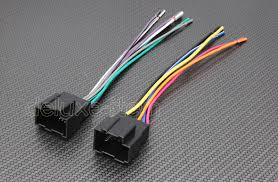 car stereo radio head unit wire wiring harness adapter lead for car stereo wiring harness for hyundai kia