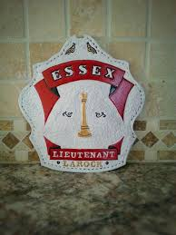 custom leather fire helmet shields front and radio straps order today 1815796661