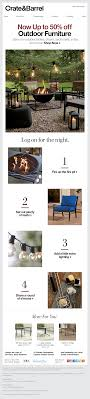 Crate And Barrel Designer Rewards Program Crate And Barrel Emails On Really Good Emails