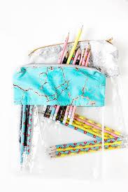 how to make a diy pencil case diy pencil pouch diy back to school