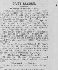 Charles Dickhaut, El Paso, Texas - 2 Dec 1918 - Newspapers.com