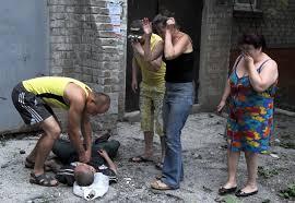 """Террористы попали из системы """"Град"""" в жилые кварталы Амвросиевки. Есть разрушения и пострадавшие, - спикер АТО - Цензор.НЕТ 9834"""